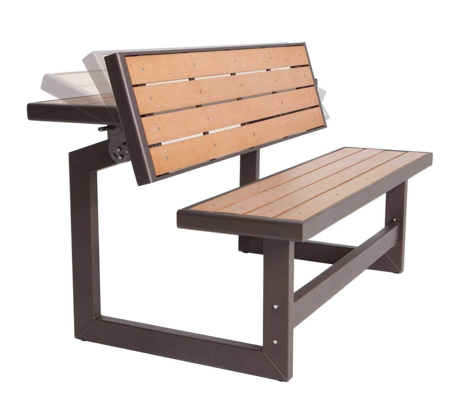 Lifetime 60054 Convertible Bench / Table $131.99, FS (Amazon Prime)