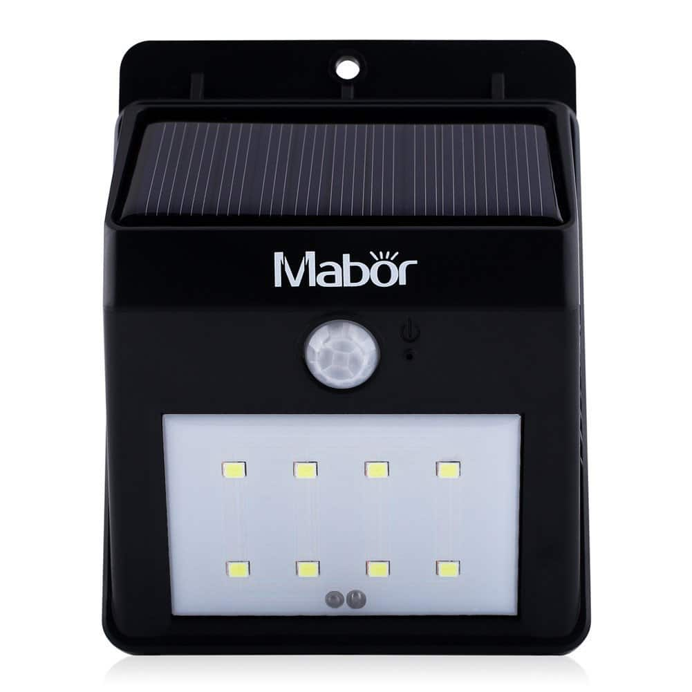 8-LED Mabor Waterproof Motion Sensor Solar Wall Light  $6