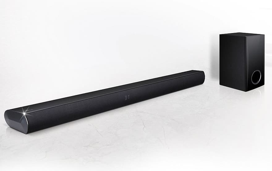 LG LAS350B with wired subwoofer Soundbar + $15 kohls cash (with 1c filler item) $75 @ Kohls