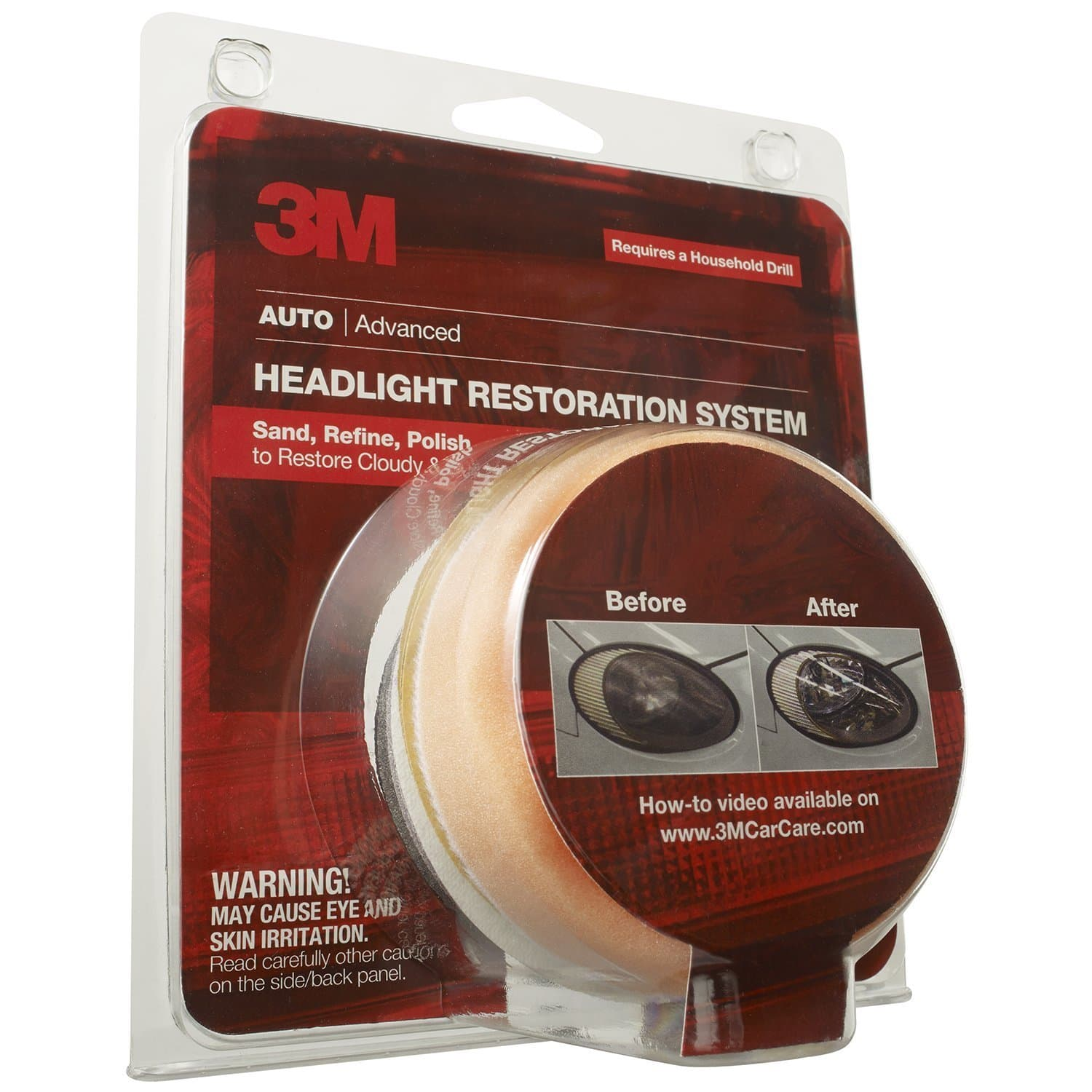 3M Headlight Products: Headlight Lens Restoration System  $4.45 after $5 Rebate & More + Free S&H