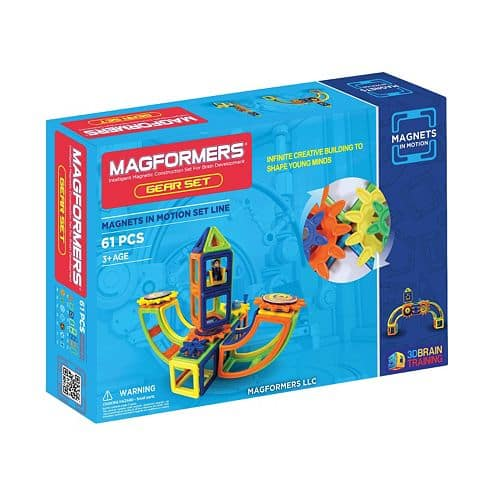 Magformers: 61-pc. Opaque Magnets in Motion Set $40.79, 60-pc. Power Gear Set $61.19, 81-pc. Walking Dinosaur Set $74.79, More + free ship on $75+