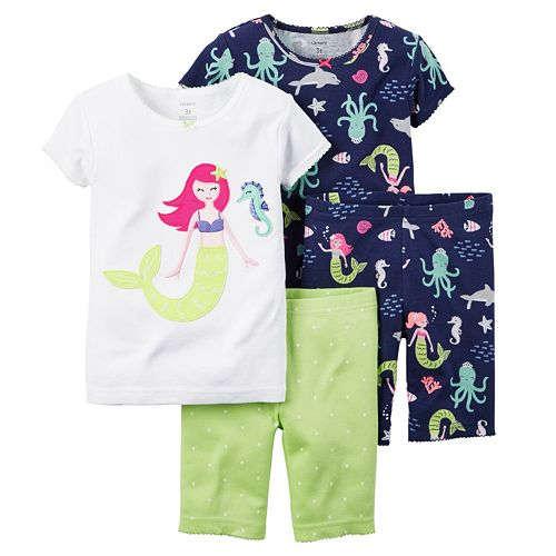Kohls Cardholders: 2-Pack of 2-Piece Carter's Baby Boys' or Girls' Print Summer Pajama Sets  $7.14 + free shipping ($3.60 per pajama set)