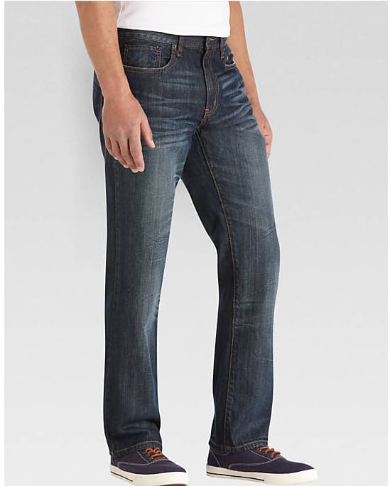 Kenneth Cole or Rockstar Men's Slim-Fit Jeans $15 each when you buy 2 or more + free shipping
