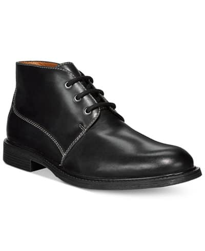 Bostonian Men's Brently Style Boots $32 shipped (or add Rockport Quarter Strap Sandals, both for $44 shipped)