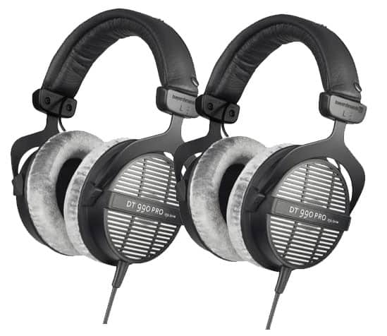 (2-pack) Beyerdynamic DT-990 Pro 250 Ohm Headphones $195 + free shipping w/ masterpass (1 pair for $110)