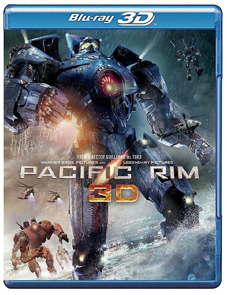 Pacific Rim (Blu-Ray 3D) 3-Disk: $10.47