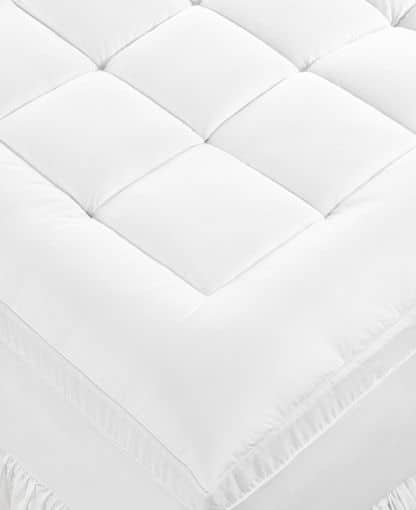 500-Thread Count Cotton Lauren Ralph Lauren Dual Layer Dobby Mattress Pad (Queen) $48, or $36 w/ First App Purchase (orig $240) + Free shipping on $50+