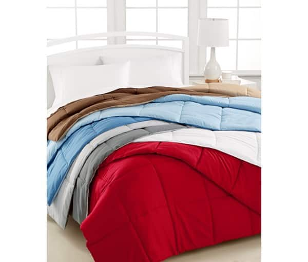 home design down alternative color comforter all sizes