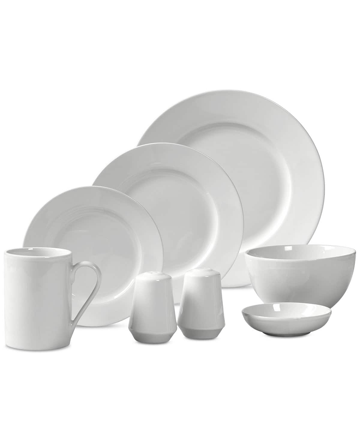 50-Piece Tabletops Unlimited Luna Round Dinnerware Set $33.50 shipped, or 2x 50-Pc Sets $60 shipped