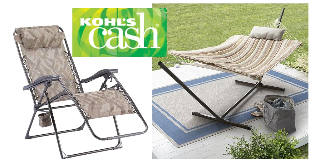 Great Kohls Cardholders Pc Hammock Set Antigravity Chair in Kohls Cash