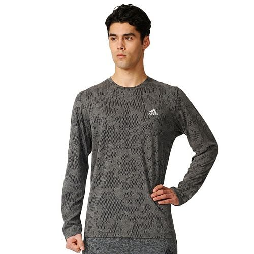 Kohls Cardholders: Men's adidas Camouflage Burnout Long Sleeve Tee $9.80, Men's adidas Tricot Jacket $14, More + free shipping