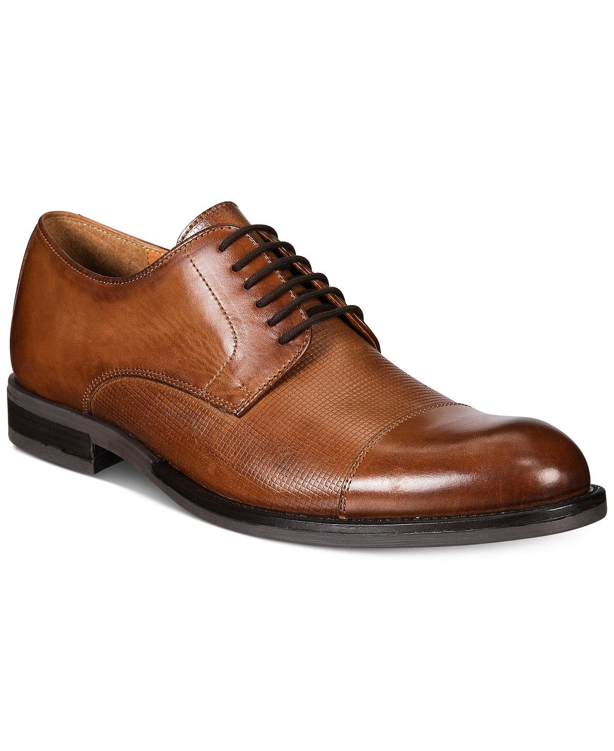 Alfani Men's Dress Shoes w/ Leather Upper 2 for $51 ($25.50 each + earn $10 in Macys Money) + free shipping