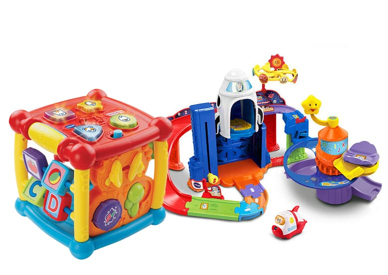 VTech & Mega Bloks Toys: Buy One, Get One Free: Gallop & Rock Leaning Pony Ride On Toy 2 for $20 & Many More + Free In-Store Pickup via Toys R Us