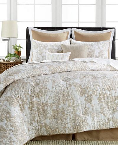 Elegant  Piece Everett Cotton Linen Queen Comforter Set shipped Comforter
