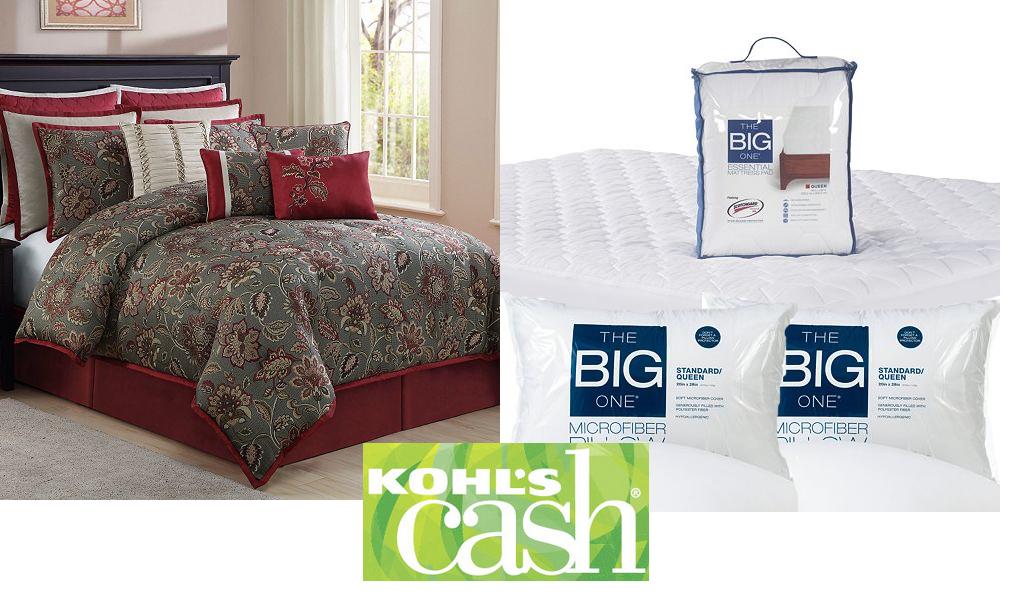 New  Pc Harvest Manor Jaquard Queen Comforter Set Mattress Pad Pk