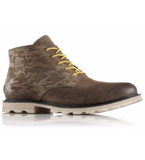 Sorel: Men's Madson Leather Chukka Boot or Wingtip Lace Shoe $63.92, Madson Moc Toe Leather Boot $75.92 + $6 shipping