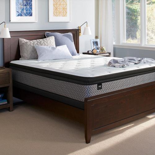 Beautiful Sealy Essentials O uNeill Plush Pillow Top Queen Mattress u Box Spring Set