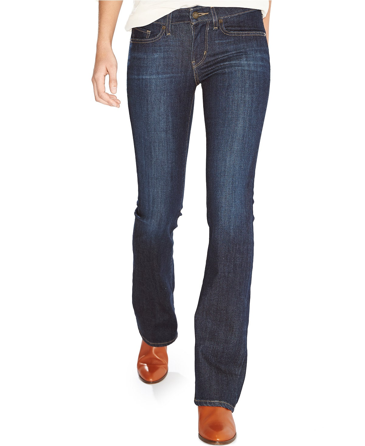 Women's Levis Jeans: 712 Slim-Fit $10, 715 Bootcut $10, Other styles from $12 + $3 shipping
