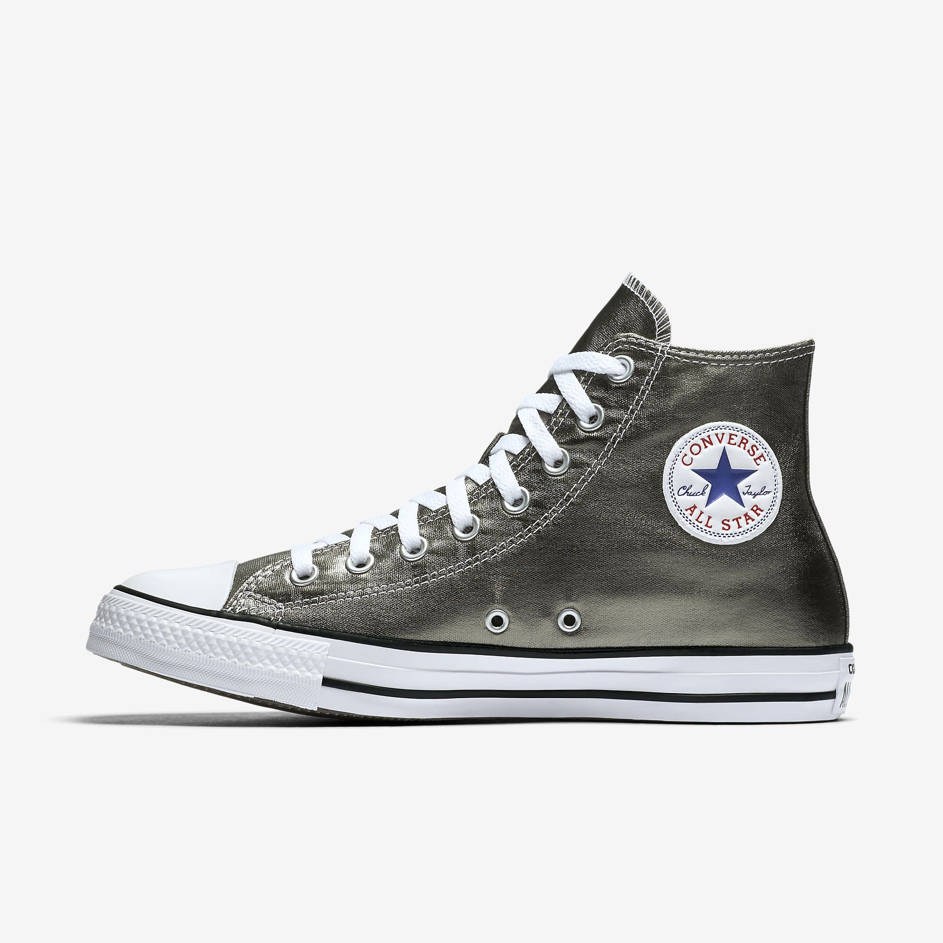 ec906de31f0506 Converse Chuck Taylor All Star Metallic High Top (olive)  20 + free  shipping (