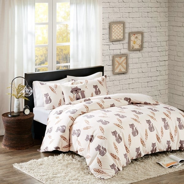4-Piece Cayler Fox Duvet Cotton Cover Set (king or queen) $20, 5-Piece Daryl Comforter Set (queen) $20, More + free shipping on $49