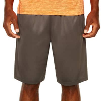 Spalding Yarn Dyed Knit Workout Shorts $4, Xersion Men's Basketball Shorts $4.20, St. John's Bay Classic Fit Woven Cargo Shorts $4.80, Much More + free shipping