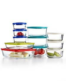 22-Piece Pyrex Glass Food Storage Container Set w/ Lids  $19.60 + Free Store Pickup