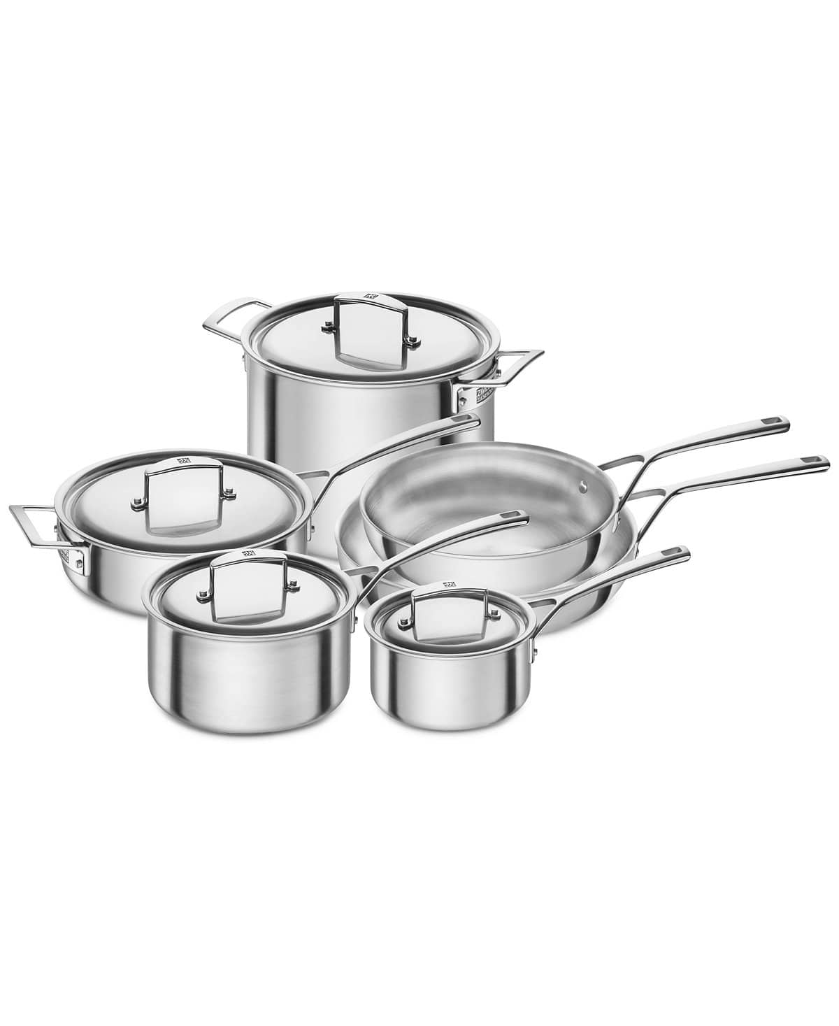10-Piece J.A. Henckels Zwilling Aurora 5-Ply Cookware Set $483.60 + free shipping ($700 on amazon)
