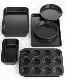 6-Pc Calphalon Simply Bakeware Set $15.50, or Bakeware Set + 2-Cup Pyrex Measuring Cup $17.50 + free store pickup at Macys
