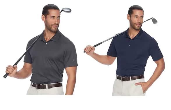 Kohl's Cardholders: Men's Fila Sport Golf Pro Core Performance Polo 2 for $10.50 + Free Shipping ($5.25 each)