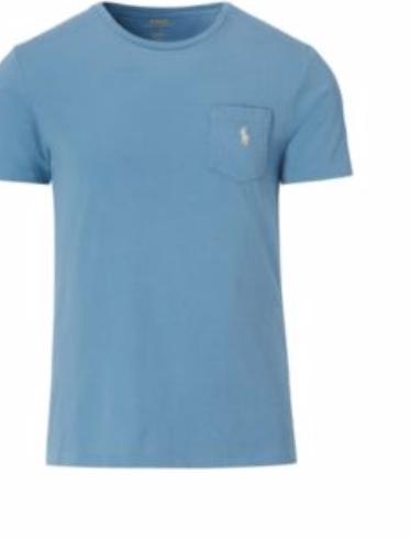 Ralph Lauren 30% Off Select Styles: Men's Custom Fit Cotton T-Shirt  $14 & More + Free S&H