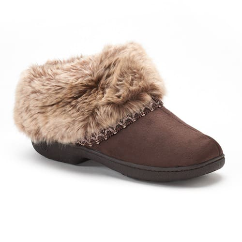 Women's Isotoner Clog Slippers (various) $8.50 + free store pickup at Kohls