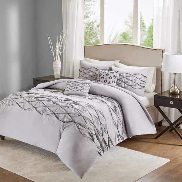 5-Piece Sunita Cotton Comforter Set $25, 5-Piece Quebec Comforter Set (blue only) $25, More + free shipping on $49+