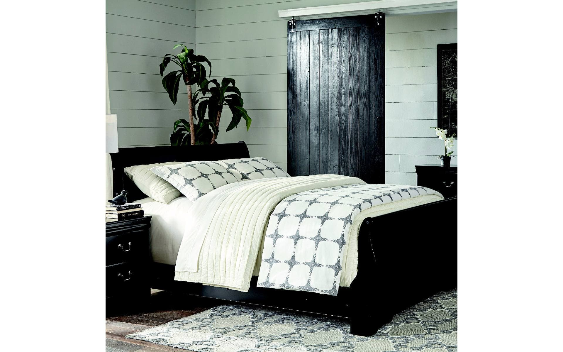Lovely Ashley Piece Queen Bedroom Set Designs w Mattress u Box