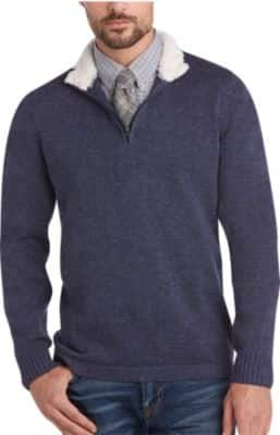 Men's Wearhouse: Joseph Abboud Sweaters 2 for $30, Wool Blend Sweaters $16, Sport Coats from $28  + free S&H