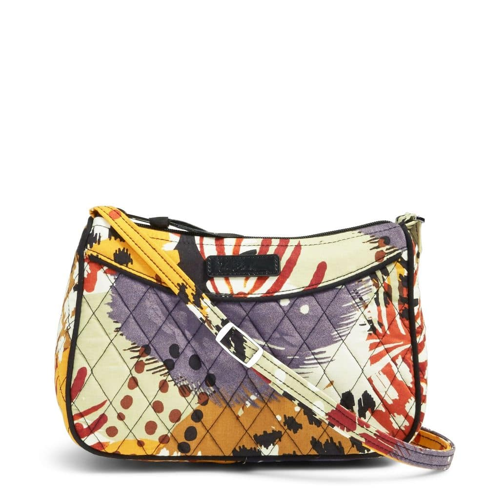 5375f7fd1f18 Vera Bradley Little Crossbody Bag in Painted Feathers  12