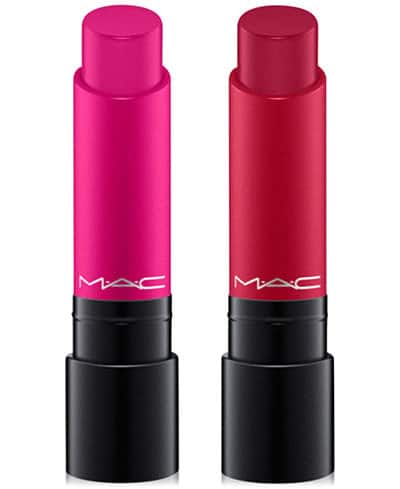 Macys Beauty Extra 15% Off: MAC 2-Pc. Liptensity Lipstick Set $17.85, Laura Geller 4-Pc. Hollywood Eyes Set $19.55, More + free shipping