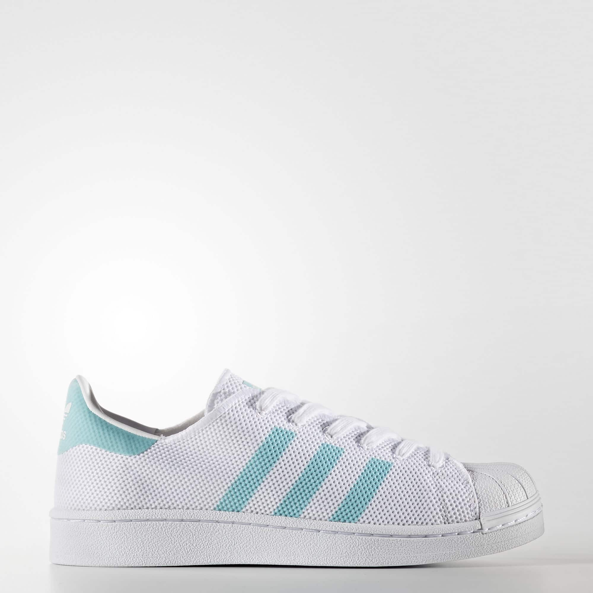 adidas Women's Originals Superstar $30, Men's Stan Smith Perforated Leather (Blue) $34, Women's Capri Tights $12, Men's Superstar adiColor Shoes $35, More + free shipping
