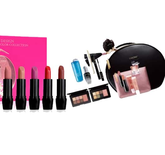 Lancome: 10-Pc Full Size Best Sellers + 5-Pc Full Size Lipsick Set + 7-Pc Gift $86.28 + Free Shipping