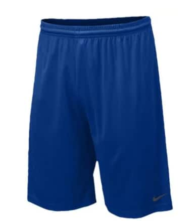 """Nike Men's 10"""" Team Fly Shorts (Large Only, blue) $9.35, Nike Team Logo Tees (limited sizes, teams) $10.50 + free shipping"""