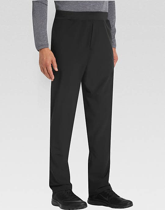 d3f2feaa0 Joseph Abboud Men's Black Athletic Pants - Slickdeals.net