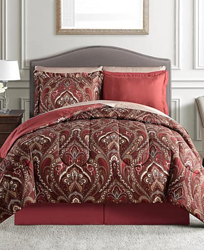 8 Piece Comforter Sets Various 30 Free Shipping Earn 10 In