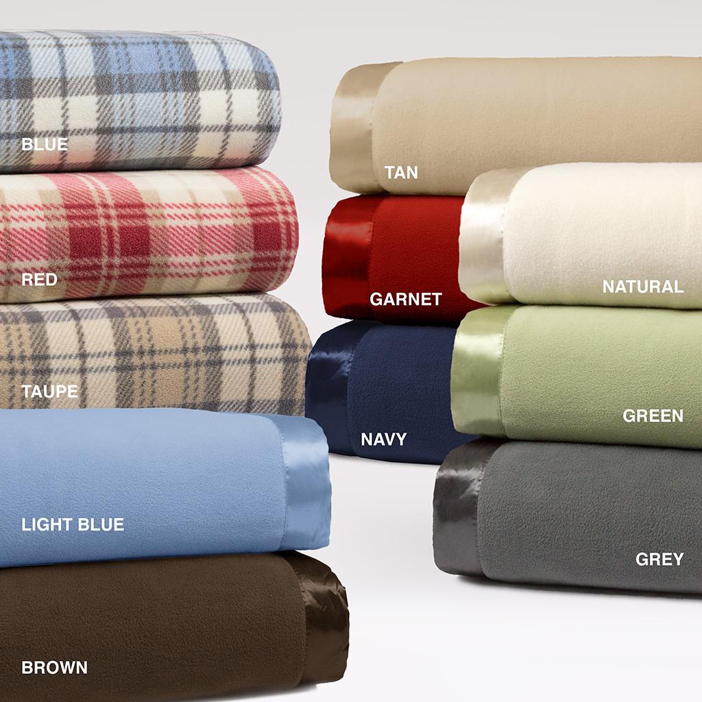 Micro Fleece Blanket (king or queen) $11, 3-Piece Fairbanks 3M Scotchgard Down Alternative Comforter Set (queen) $20, 8-Piece Chester Comforter Set (full or queen) $25 + Free S&H
