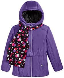 Boys' and Girls' Jacket w/ Hat or Scarf: Weathertamer, Hawke & Co, more $16 each + free ship on $25+