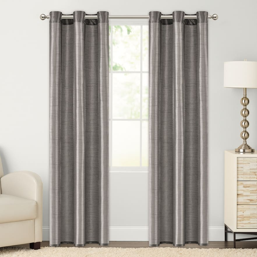 Kohls Stacking Coupons: 20% Off Furniture, Pillows, Decor, More + 15% Off: The Big One 2-pack Faux Silk Window Curtains $7.13, More + free ship on $50+