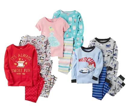 1f6d89d4707f8 Kohl's Cardholders: Carter's Toddler & Baby Top & Pant Pajama Sets ...
