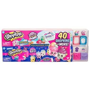 Shopkins Mega Bundle Pack (40 Shopkins): Season 7 Party and 8 World Vacation $8.26 + free shipping (or less)
