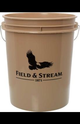 Field & Stream 5-gallon Bucket $2 + free store pickup at Dicks Sporting Goods