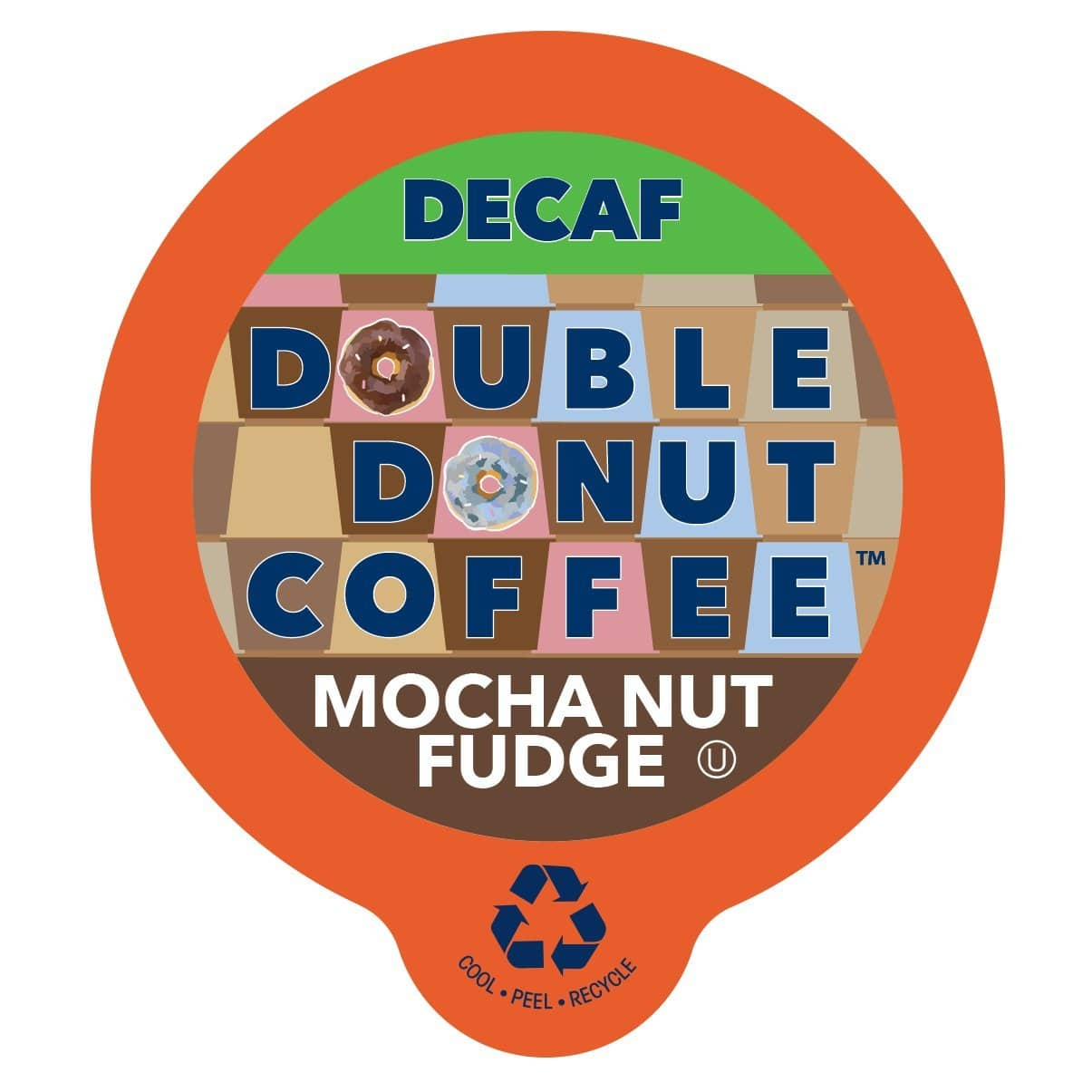 80-Count Double Donut DECAF Flavored Coffee for Keurig K-Cup Brewers (various) $18.20 or less with 5 S&S items