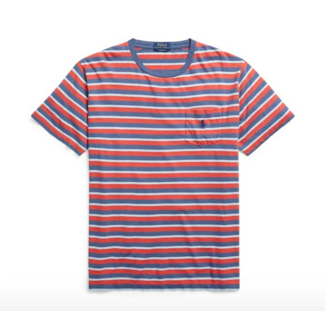 deeb8680889e1a Ralph Lauren 30% Off Select Styles: Men's Custom Slim Fit Cotton T ...