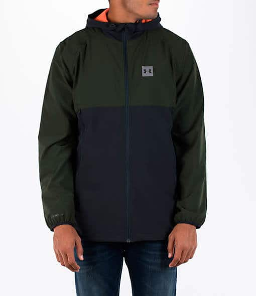 Under Armour Men's Fishtail Wind Jacket $30 + free shipping